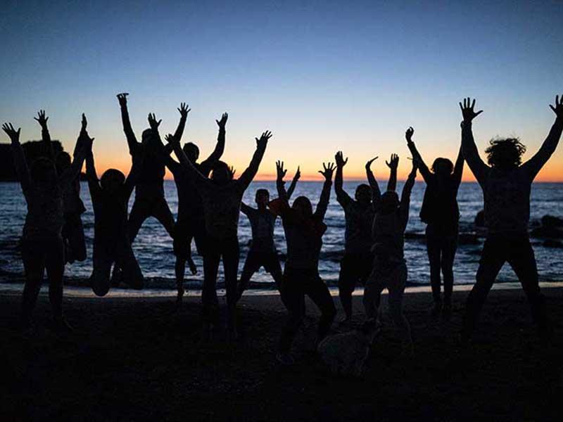 SUP Yoga und Surf Reise nach Italien